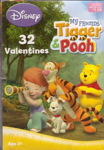 Disney My Friends Tigger & Pooh Valentines