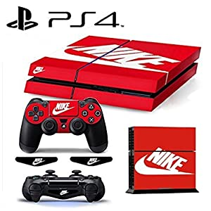 MATTAY NIKE ShoeBox Whole Body Vinyl Skin Sticker Decal Cover for PS4 Playstation 4 System Console and Controllers by MATTAY