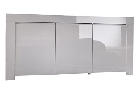 Sideboard Amalfi 3 Turen, 160 x 84 x 50 cm, weiß hochglanz