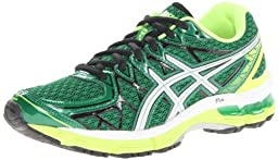 ASICS Gel-Kayano 20 GS Running Shoe,Pine/Lightning/White,4 M US Big Kid
