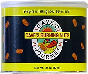 Daves Burning Nuts 10 Oz by AmericanSpice.com