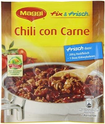 Maggi fix & frisch für Chili con Carne, 42er Pack (42 x 38 g) von Maggi - Gewürze Shop