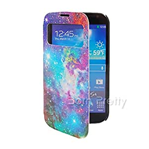 GENERIC 1Pc Leather Case For Samsung Galaxy S3 Splendid Starry Sky Patterned Design # 10688