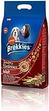 Brekkies Dog Tender & Delicious Alimento para Perros con Buey - 3 Kg