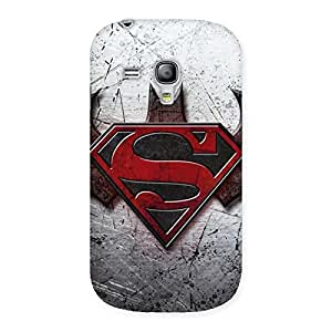 Ajay Enterprises Wo Day Rivals Back Case Cover for Galaxy S3 Mini