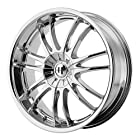 Helo HE845 Chrome Wheel - (17x7.5/5x115, 120mm)