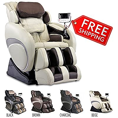 Therapeutic Massage Chair Recliner - High Tech Shiatsu Massager with Body Scan Therapy & Zero Gravity Technology