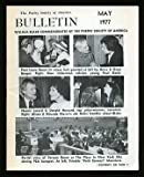 The Poetry Society of America Bulletin: May 1977
