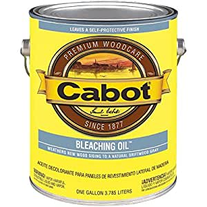 Cabot Bleaching Oil - Household Wood Stains - Amazon.com