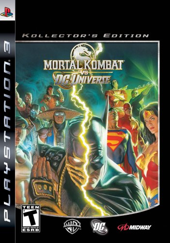 Mortal Kombat Vs Dc Universe: Kollector'S Edition