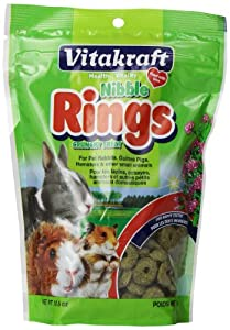 Vitakraft Nibble Rings-10.6 oz