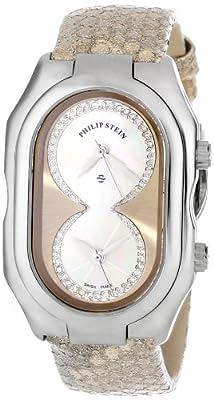 Philip Stein Women's 11-ICHW-PGGL Prestige Diamond-Accented Stainless Steel Watch