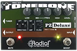 Radial Engineering R8007320 PZ-Deluxe Acoustic Preamp