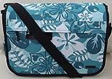 Imprimé floral bleu
