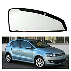 Commanders Club--Premium Quality Magnetic Sun Shades/Car Curtain with Zipper For Volkswagen Polo (Old Model) - Set of 4 Pcs