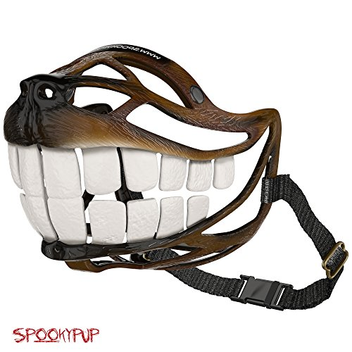 SpookyPup-Hilarious-Halloween-Dog-Costume-Muzzle-with-Large-Teeth-Turn-Your-Dog-into-a-Fun-loving-Cute-and-Happy-Friend