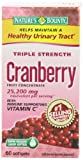 Natures Bounty Triple Strength Cranberry with Vitamin C, 60 Softgels