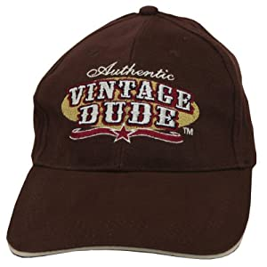 Laid Back Rodeo Vintage Dude Hat, Adjustable, Brown