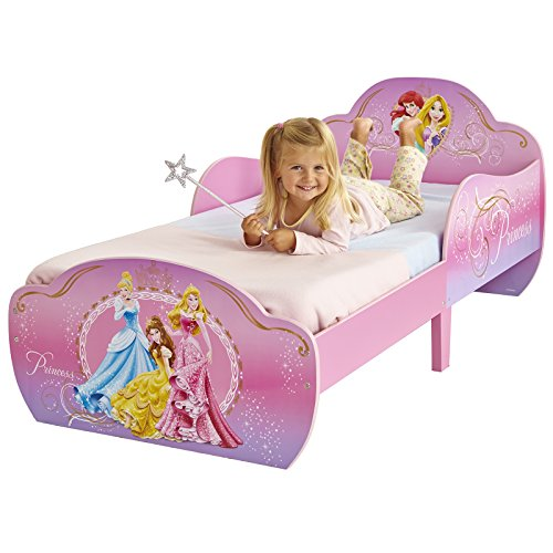 Disney Princess Snuggletime Toddler Bed + Matelas Deluxe