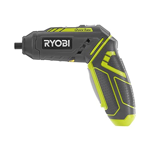 Ryobi HP44L QuickTurn 4-Volt Lithium-Ion 14 in. Cordless Screwdriver via Amazon