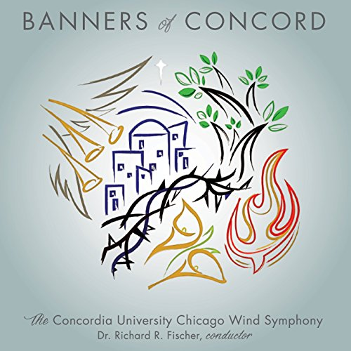 CD : STAMP / CONCORDIA UNIVERSITY CHICAGO WIND SYMPHONY - Banners Of Concord