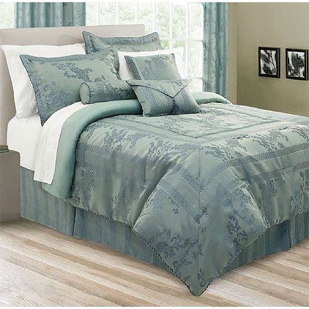 Lawrence Home Fashions 7pc Comforter Set, Full
