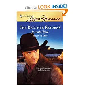 The Brother Returns (Harlequin Large Print Super Romance) Jeannie Watt