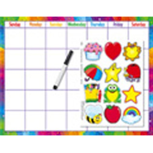 Reusable Calendar Cling (Cling Accents) Wipe-Off Kit