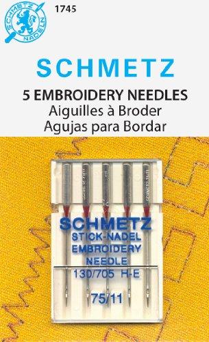 Purchase Schmetz Machine Embroidery Needles 75/11
