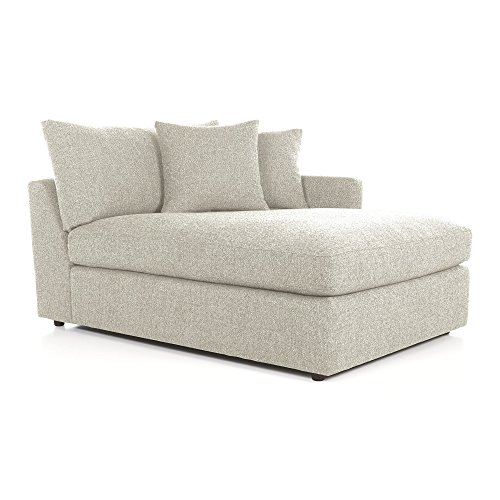 Crate And Barrel Lounge Ii Right Arm Sectional Chaise