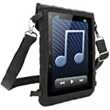 "USA Gear Portable Shoulder Bag Case / Mobile Tablet Travel Sling with Clear Screen Protector - Works with NEW Apple iPad Mini 3 , 7"" Allwinner A13 , 7"" Samsung Galaxy Tab 3 , ASUS Google NEXUS 7 , ProntoTec 7 and many more!"