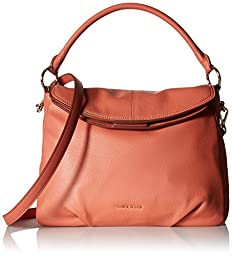 Cole Haan Magnolia Hobo Cross Body Bag, Coral, One Size
