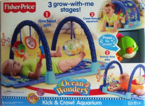 Fisher Price Ocean Wonders Kick and Crawl Aquarium - 1