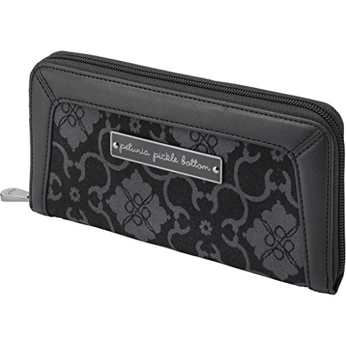 Petunia Pickle Bottom Wanderlust Wallet, Paris Noir