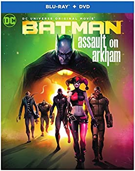 Batman Assault on Arkham on Blu-ray & DVD