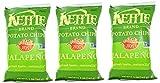 KETTLE(ケトル), ポテトチップス ハラペーニョ 5 oz (3個セット)[海外直送品] [並行輸入品]