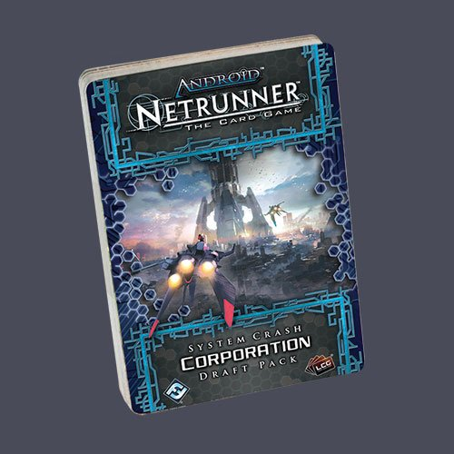Netrunner the card game: System Crash Corporation Draft Pack
