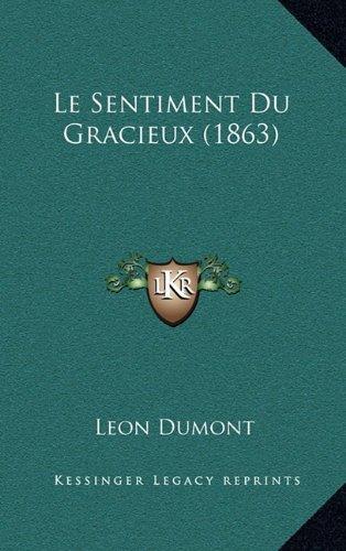 Le Sentiment Du Gracieux (1863)