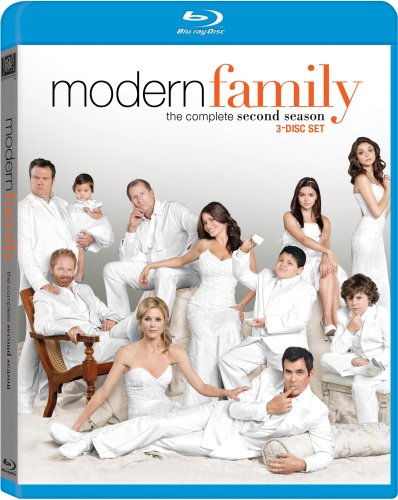 Cover art for  Modern Family: The Complete Second Season [Blu-ray]