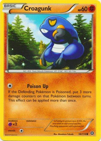 Pokemon-Croagunk-58114-XY-Steam-Siege