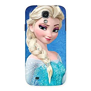 Delighted Premier Princess Wink Multicolor Back Case Cover for Samsung Galaxy S4