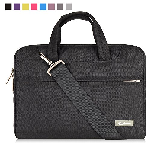 "11. Qishare 10 11"" 11.6"" 11.6-Inch 12 inch Tablet / Laptop / Chromebook / MacBook/ Ultrabook Multi-functional Neoprene Business Briefcase Sleeve Pouch /Messenger Case Tote Bag Cover"