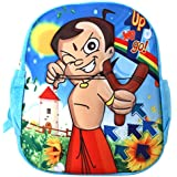 Funny Teddy Cute Lightweight Cartoon Character Bheem 3D School Bag For Kids(MultiColor)