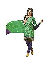 Siddhi Unstitched Cotton Printed Salwar Suit Dupatta Material ( SSHLPI-52AA )