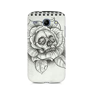 Mobicture Skull Love Premium Printed Case For Samsung Grand Duos 9082
