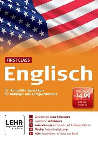First Class Sprachkurs Englisch 12.0