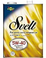 SUNOCO(スノコ) Svelt(スベルト) SN 5W40 4L エステル配合全合成エンジンオイル  [HTRC3]