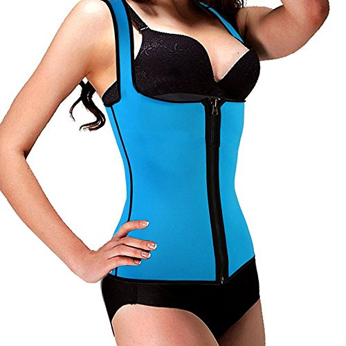 DODOING-Hot-Sweat-Shapers-Waist-Trimmer-Slimming-Shirt-Tummy-Waist-Trainer-Vest-Weight-Lose-Shirt-Womens-Elastic-Vest-Slim-Compression-Tank-Top
