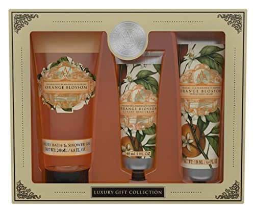 AAA Floral Orange Blossom Bath & Body Collection Gift Set by AAA Blossom Bath Collection