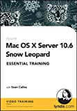 img - for Mac OS X Server 10.6 Snow Leopard Essential Training book / textbook / text book